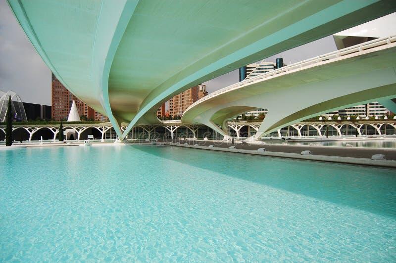 Moderne Brücken lizenzfreies stockbild