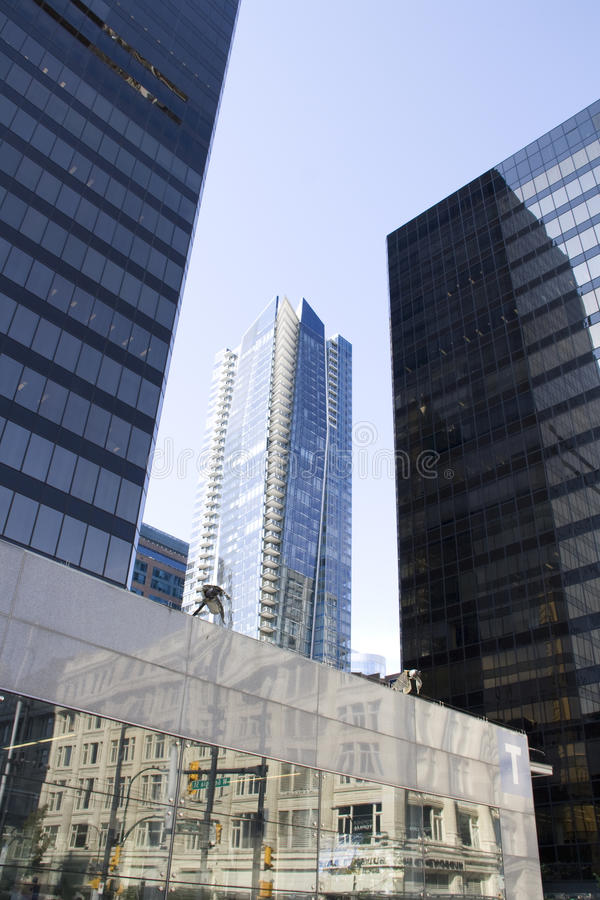 Moderne bureaugebouwen royalty-vrije stock foto