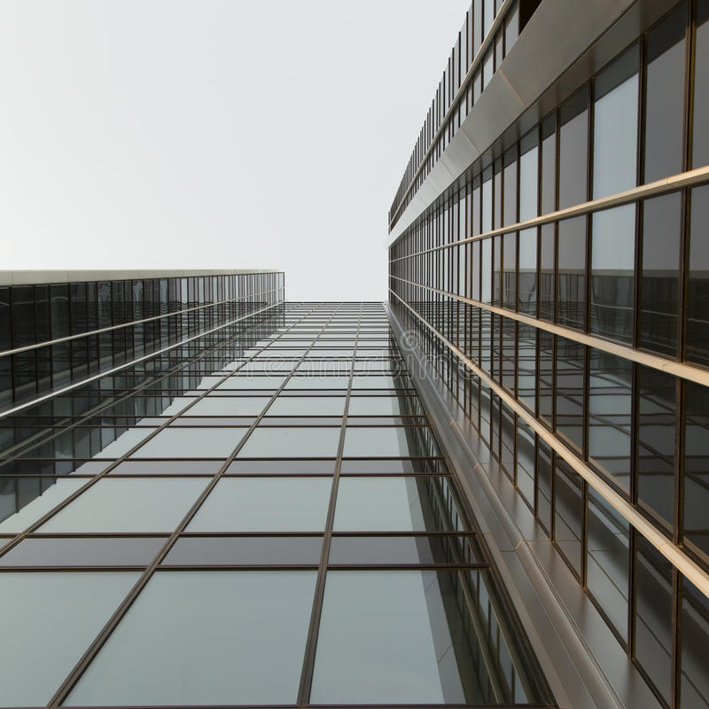 Moderne bureaugebouwen stock afbeelding