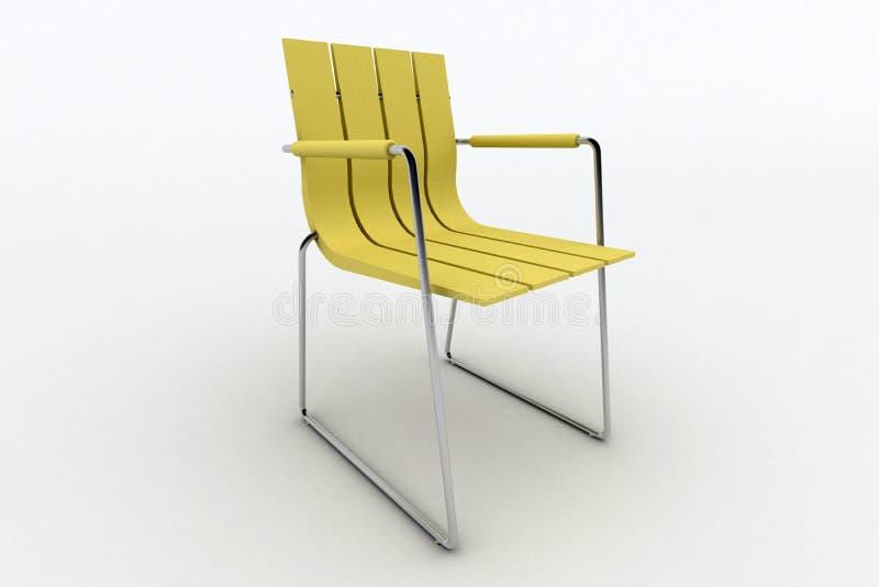 Moderne bureaustoel vector illustratie