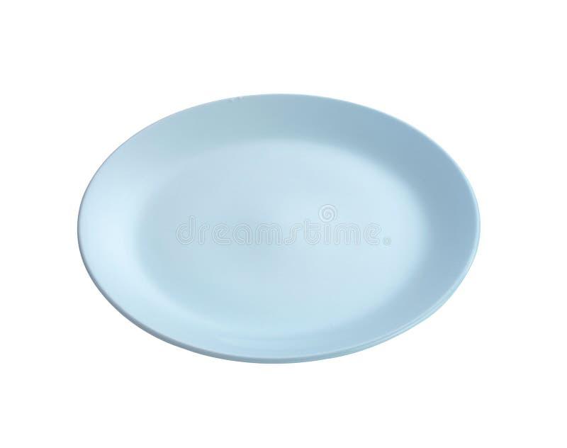 Moderne ceramische schotel stock afbeelding