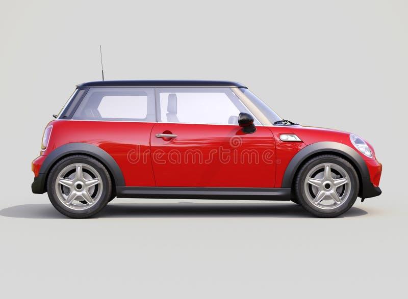 Moderne compacte auto stock afbeelding