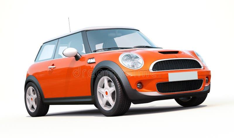 Moderne compacte auto royalty-vrije stock afbeelding