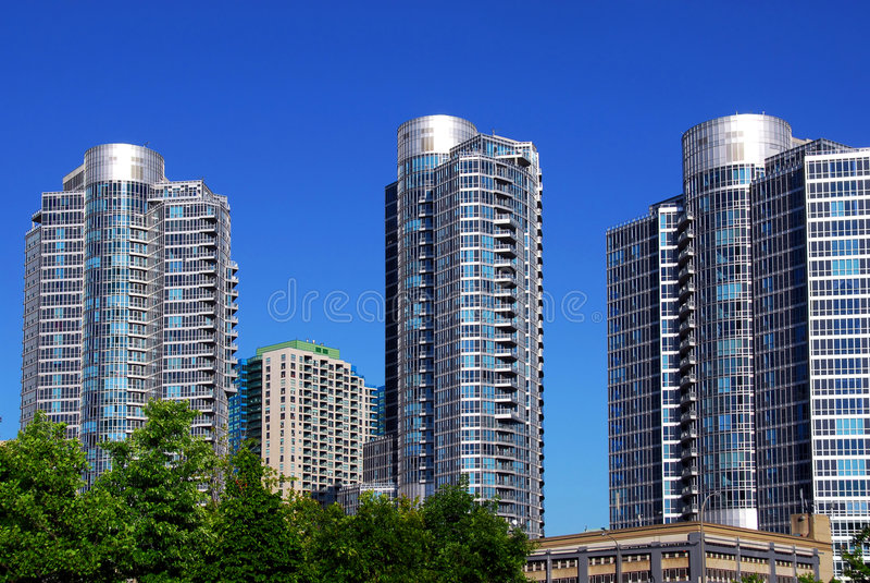 Moderne complexe flat royalty-vrije stock afbeeldingen