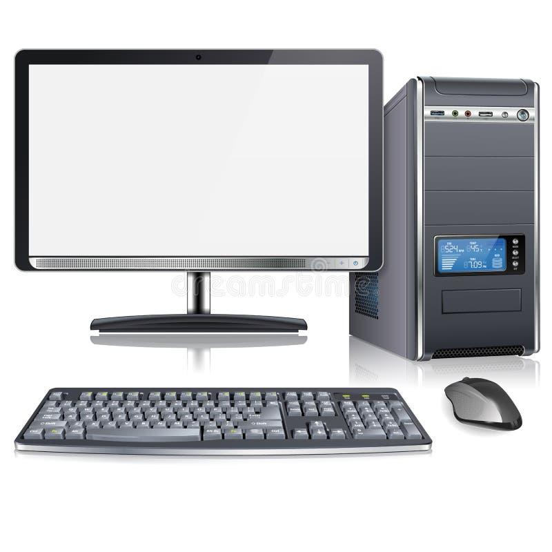 Moderne Computer royalty-vrije illustratie