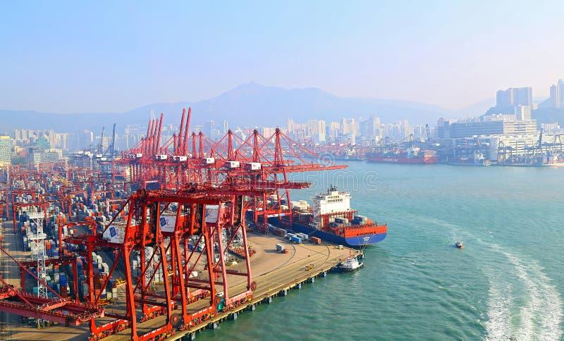 Moderne Containerbahnhöfe, Hong Kong