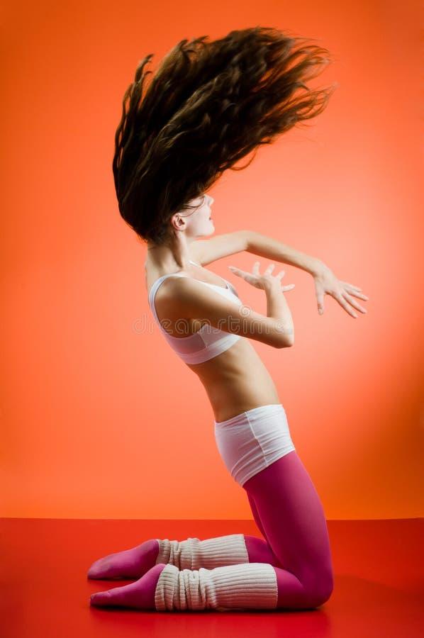 Moderne dansen stock afbeeldingen