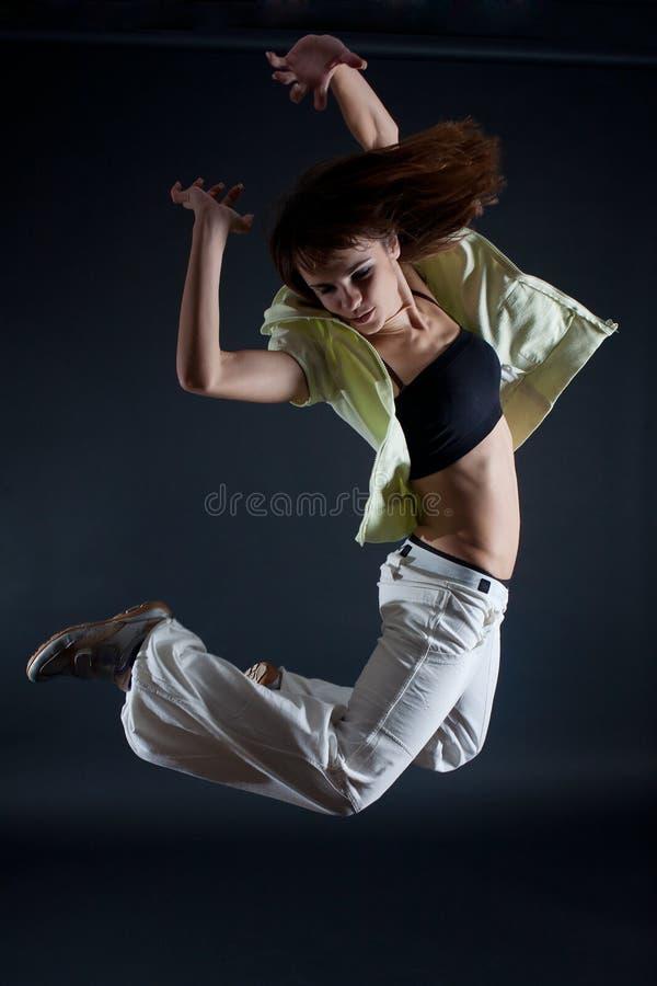Moderne danser stock fotografie