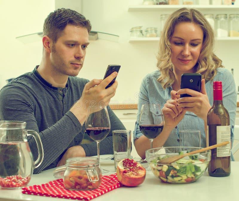 Moderne Datierung lizenzfreies stockfoto