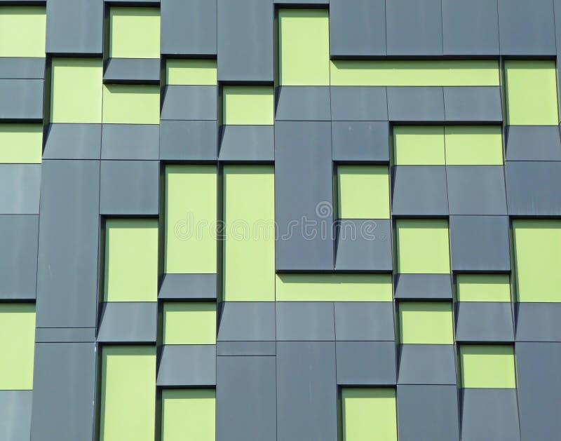 Moderne de bouw buitensamenvatting stock afbeeldingen