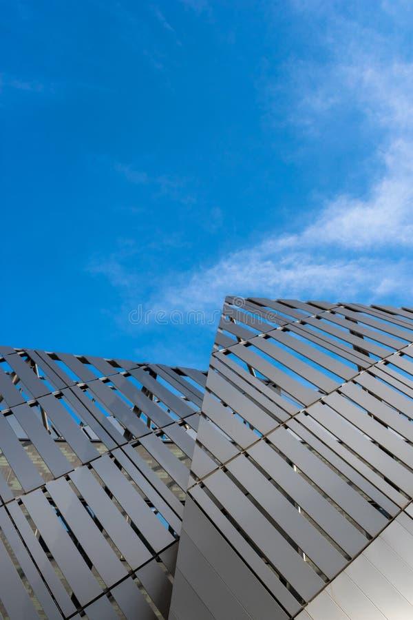 moderne de bouw structuurfoto in Turijn, Italië royalty-vrije stock fotografie