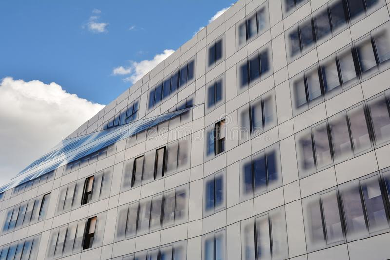 Moderne de bouwarchitectuur stock foto