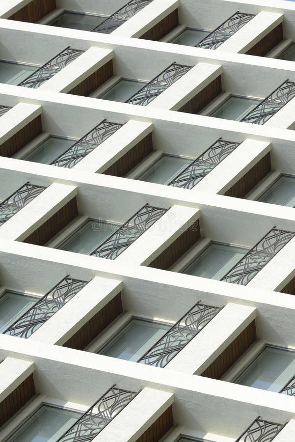 Moderne de bouwvensters stock afbeelding