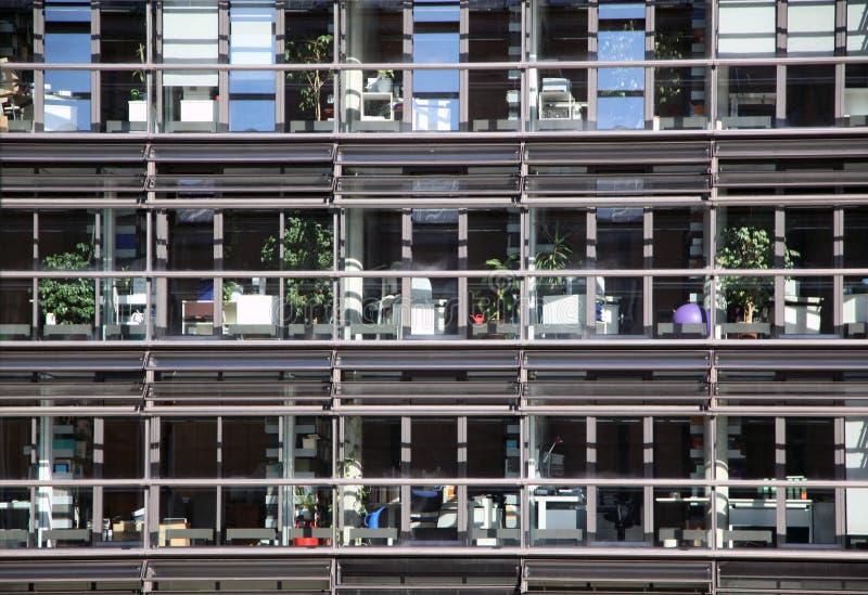 Moderne de bureaubouw arhitecture stock fotografie
