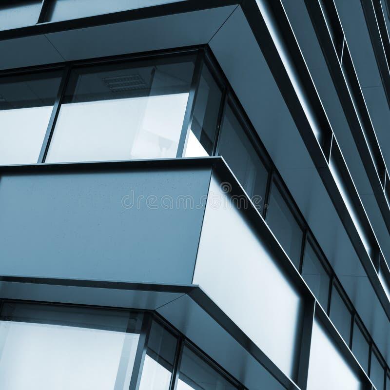 Moderne de industriële bouw voorgevelsamenvatting stock afbeelding