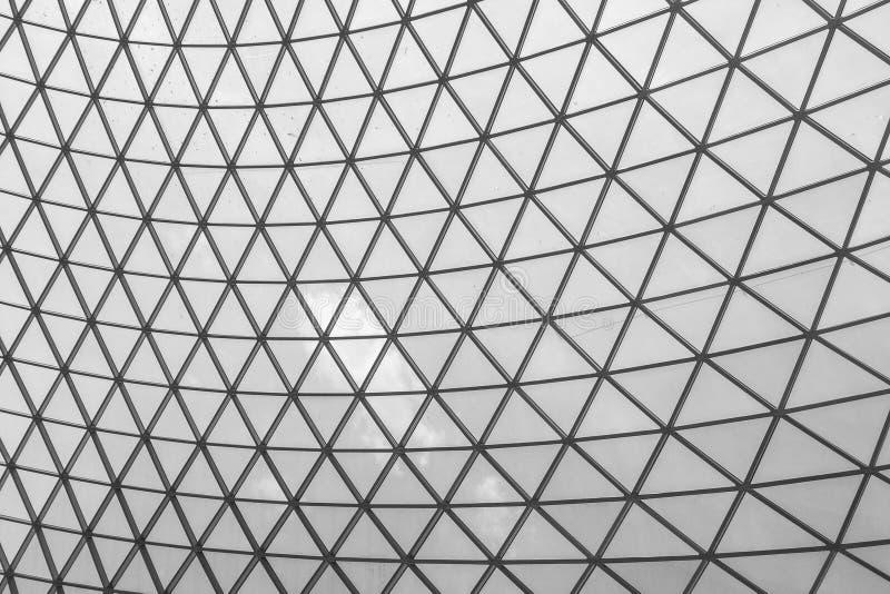 Moderne de l'intérieur du musée British Museum images stock