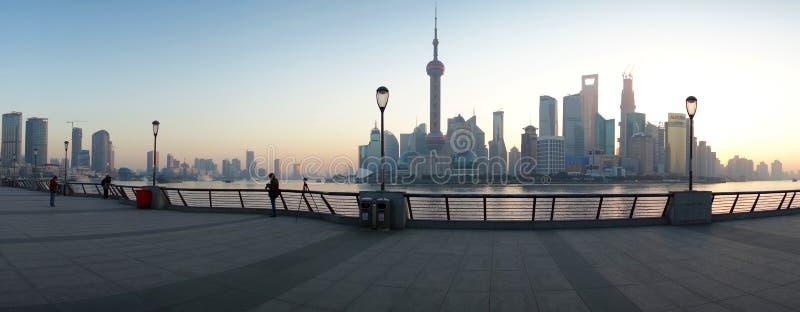 Lujiazui van Shanghai royalty-vrije stock foto's