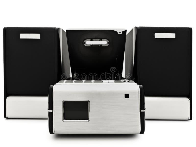 Moderne digitale CDspeler stock foto's