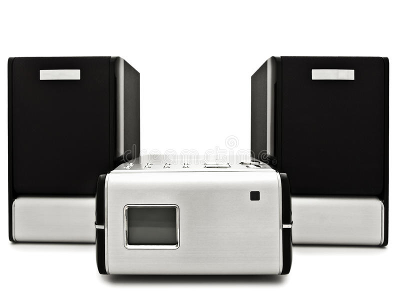 Moderne digitale CDspeler royalty-vrije stock foto
