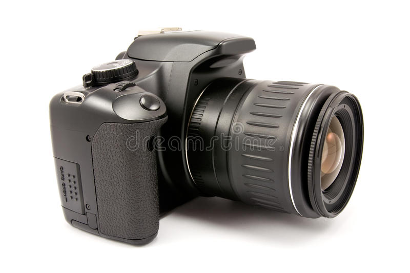 Moderne digitale fotocamera stock afbeeldingen