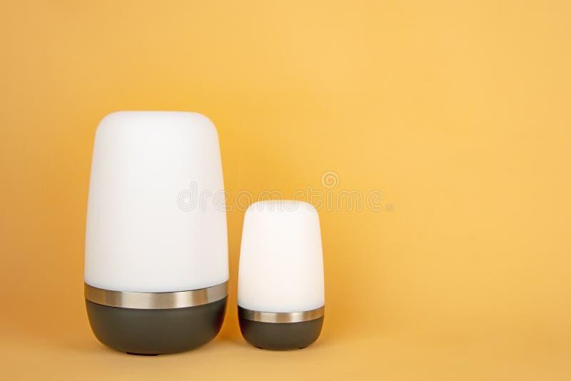 Moderne draagbare lampen stock fotografie