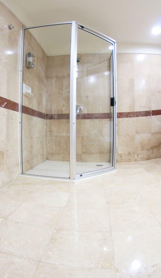 Moderne Dusche stockfotografie