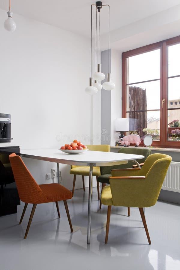 Moderne eetkamer