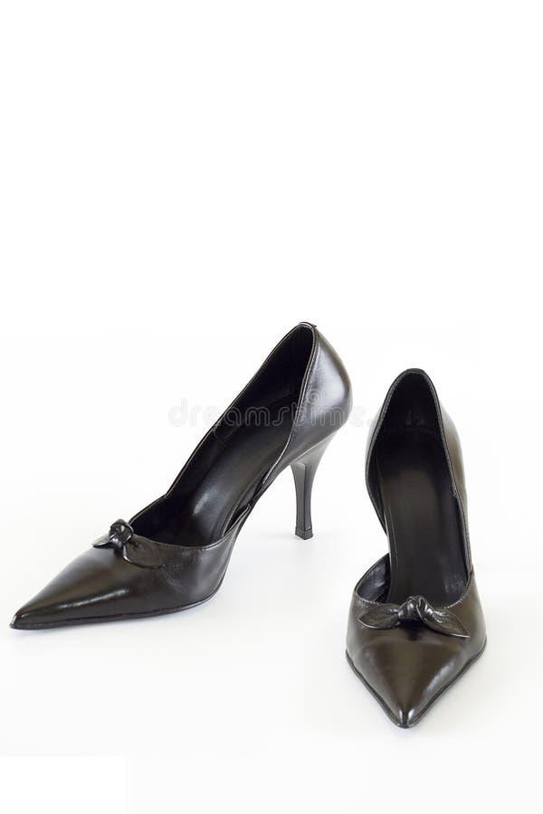 Moderne elegante Schuhe stockfotos