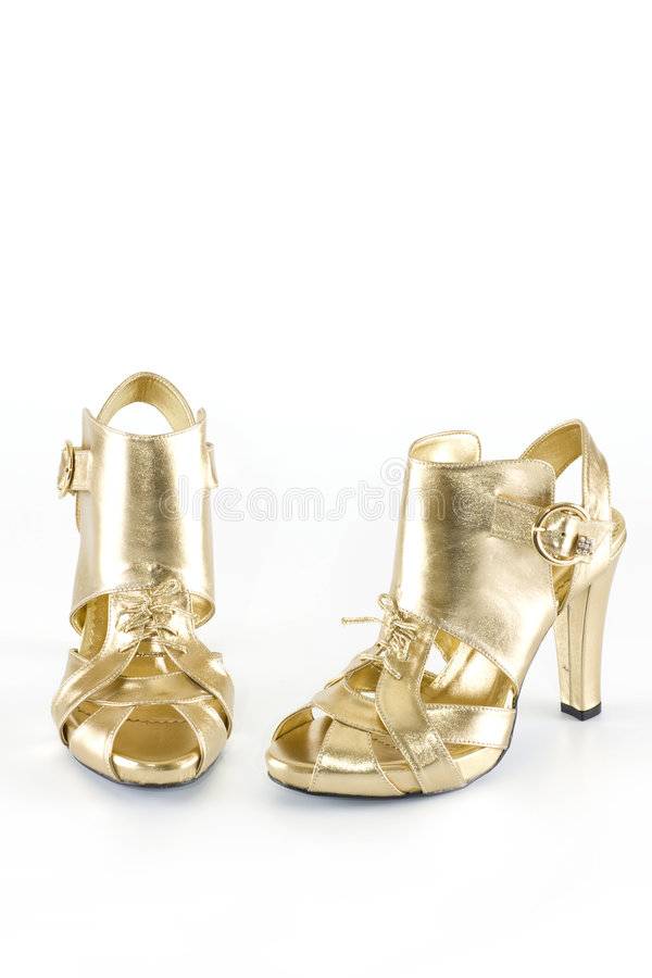 Moderne elegante Schuhe lizenzfreies stockfoto