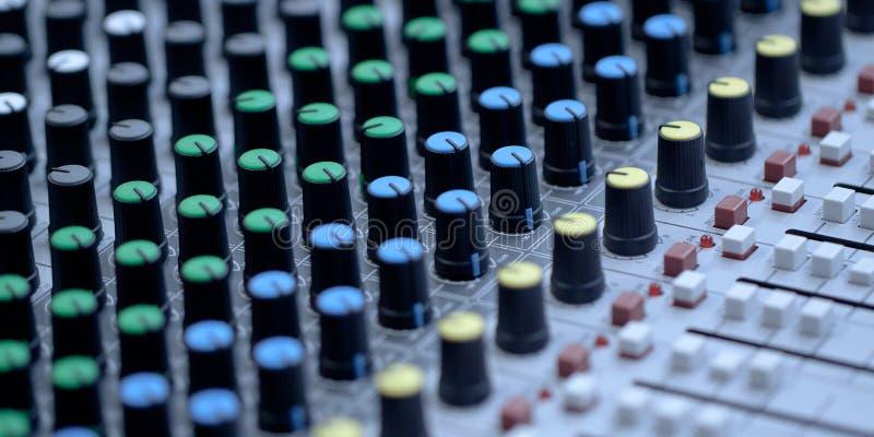 moderne elektronische grote afstandsbediening stock foto
