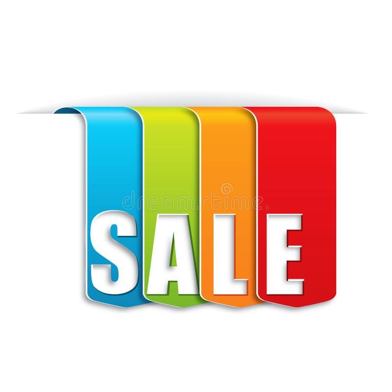 De banner van de verkoop vector illustratie