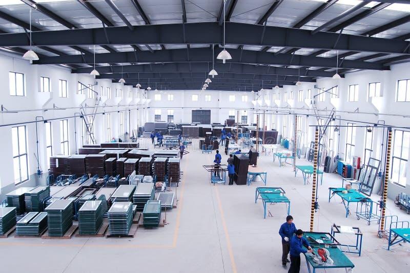 Moderne Fabrik lizenzfreie stockfotos