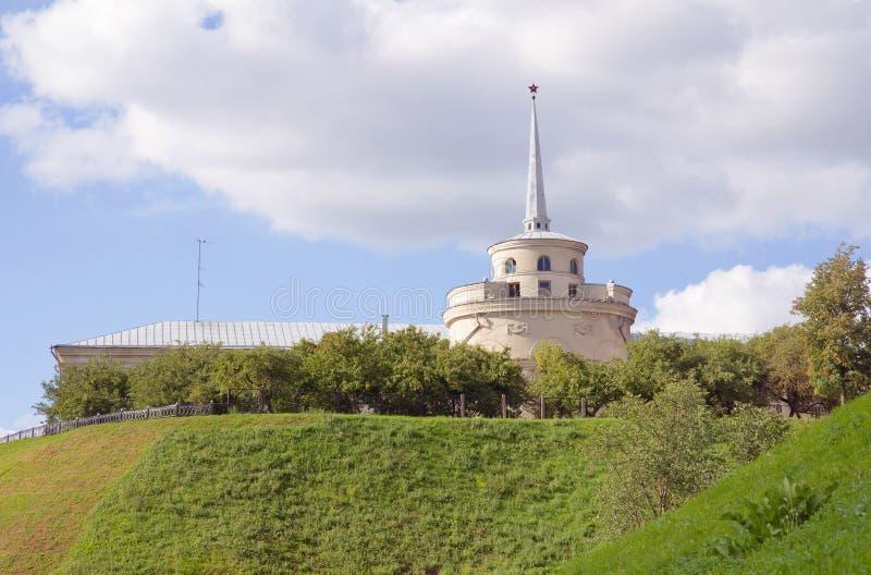 Moderne Festung Grodno, Belarus lizenzfreies stockbild