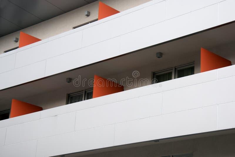 Moderne flats stock afbeeldingen
