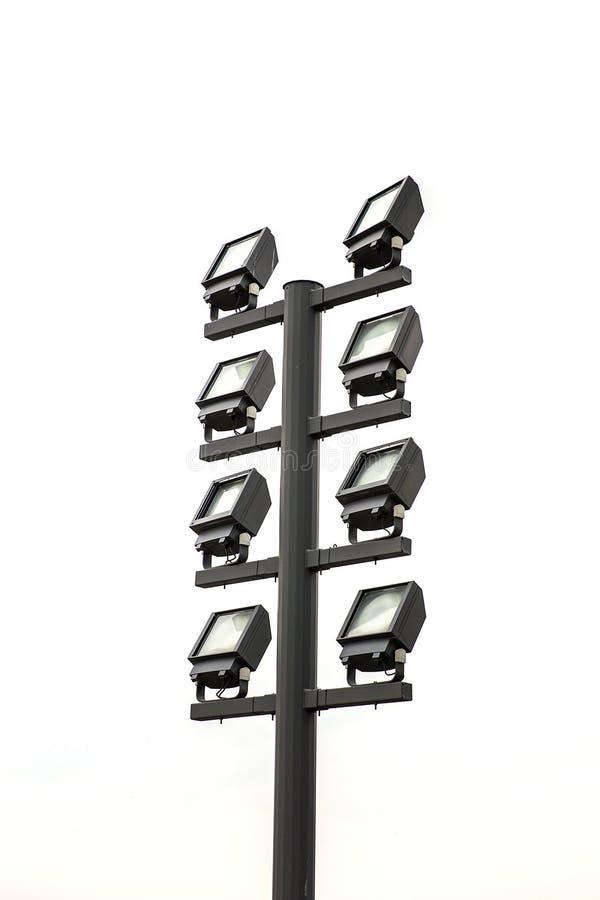 Moderne Flutlichter lizenzfreie stockfotos
