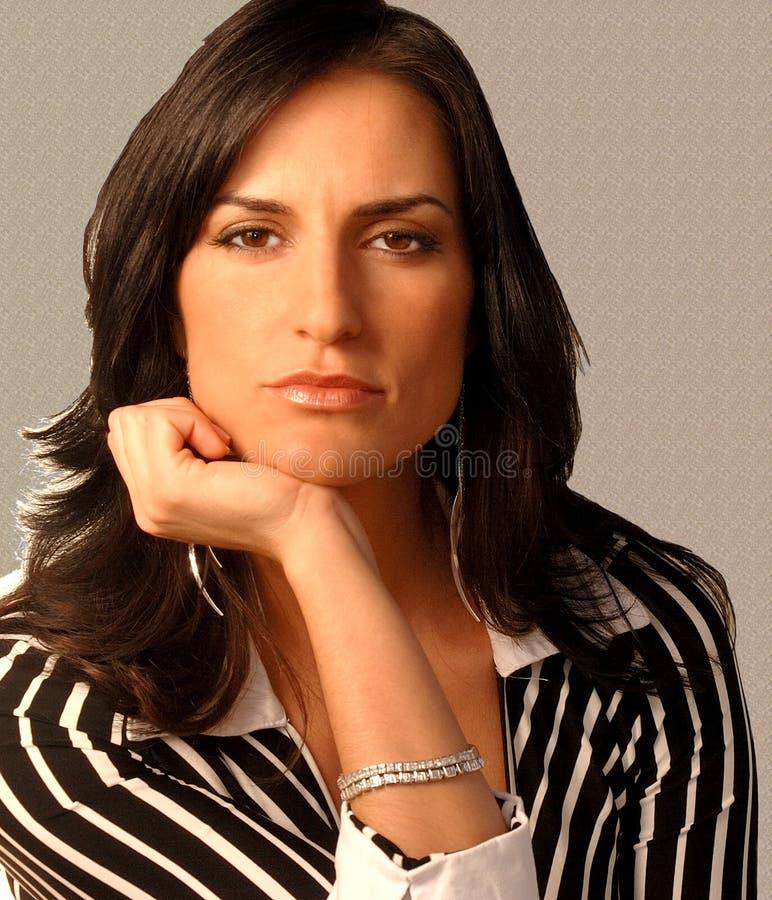 Moderne Frau stockfotos