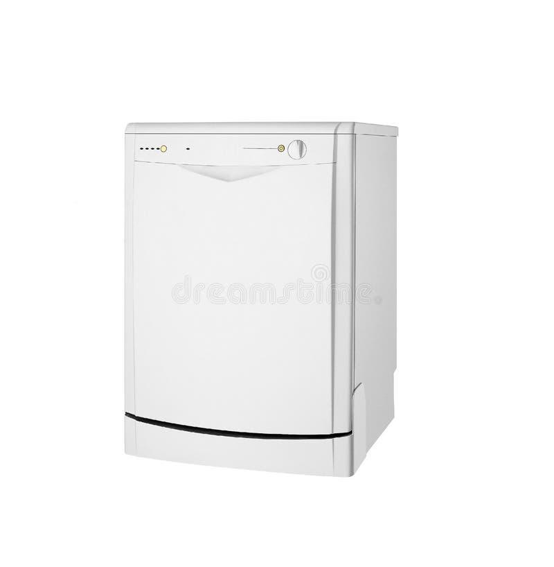 Moderne freestanding geïsoleerde afwasmachine royalty-vrije stock afbeeldingen
