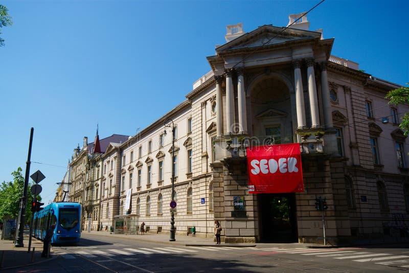 Moderne Galerie, Zagreb, Kroatien stockbilder