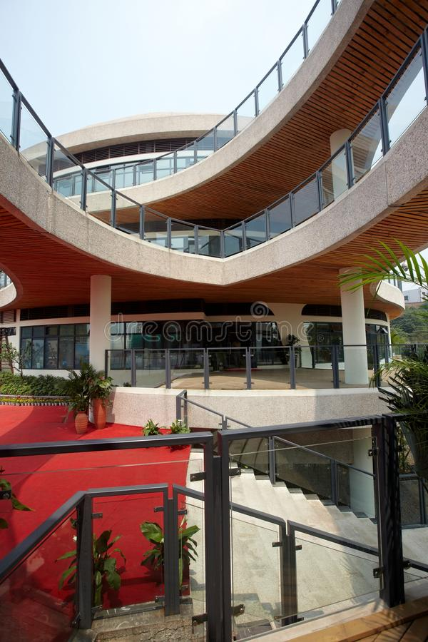 Moderne Gebäude stockbild