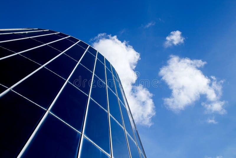 Moderne Gebäude-Haube lizenzfreie stockfotos
