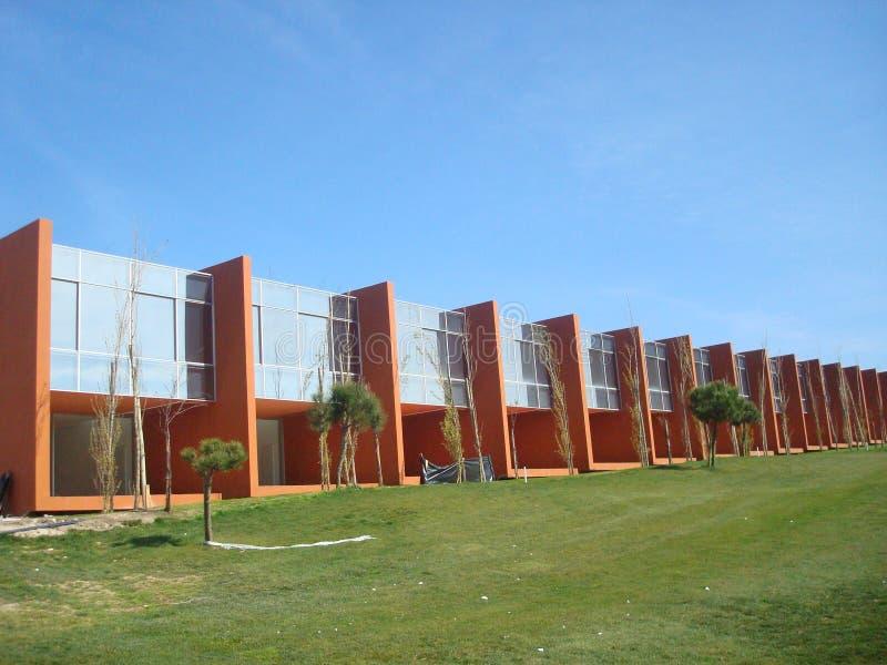 Moderne gebouwen stock foto's