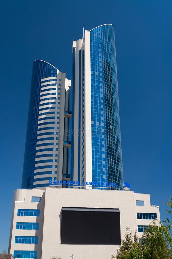 Moderne gebouwen in Astana Kazakhsatan stock afbeelding