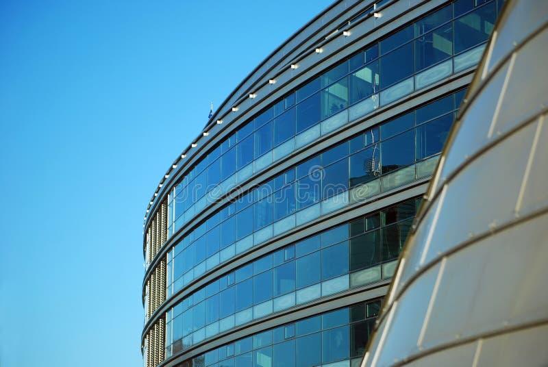 Moderne geometrische Architektur stockbild