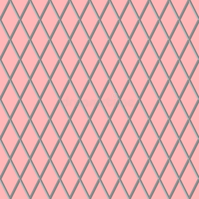 Moderne geometrische 3d achtergrond stock illustratie