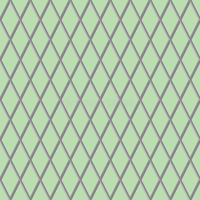 Moderne geometrische 3d achtergrond royalty-vrije illustratie