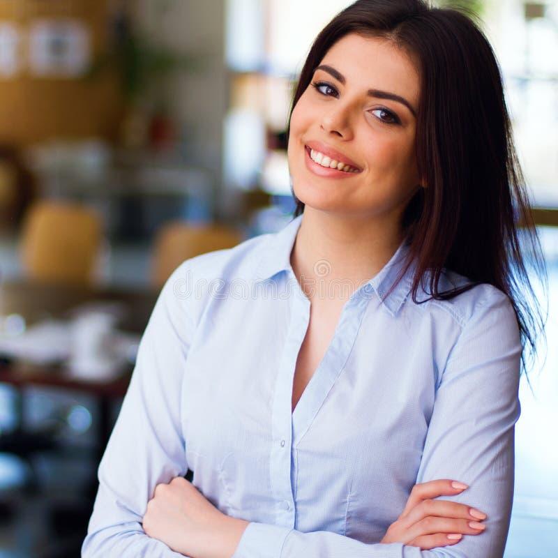 Moderne Geschäftsfrau Stockfotografie