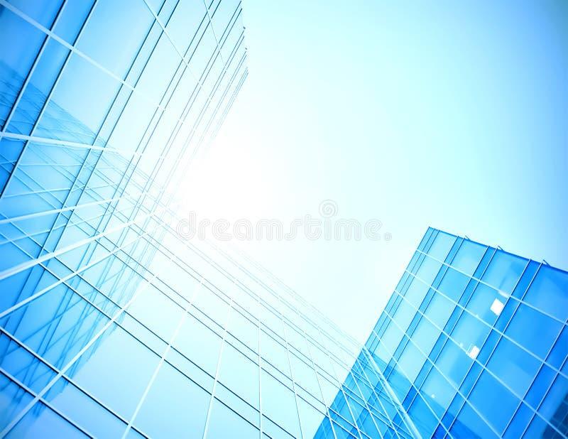 Moderne glaswolkenkrabber stock afbeelding