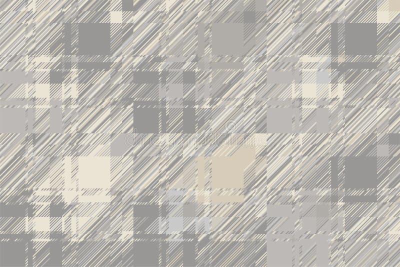Moderne glitch achtergrond Vector van het kleuren de geometrische abstracte patroon royalty-vrije illustratie