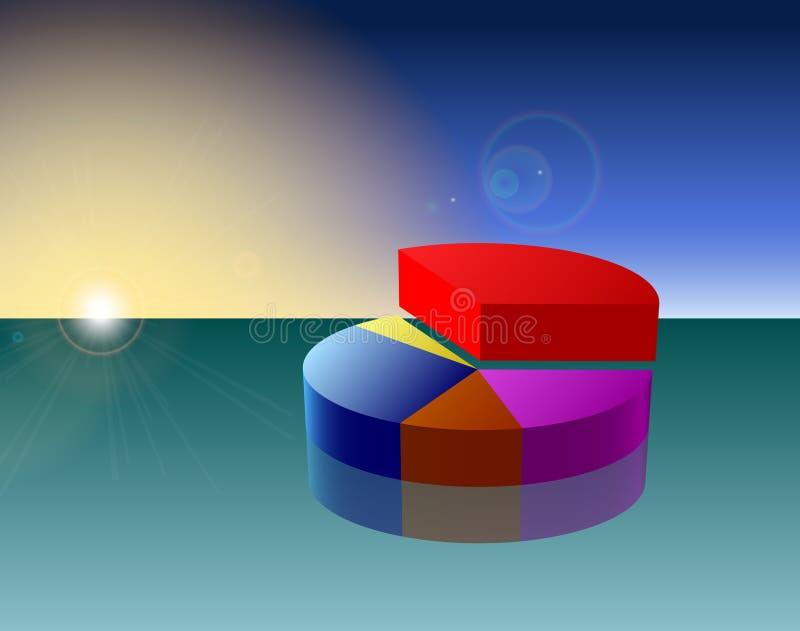 Moderne Grafiek stock foto