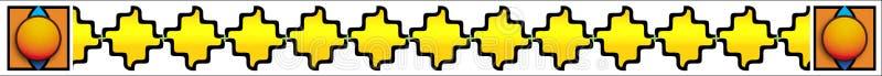 Moderne Grens stock illustratie